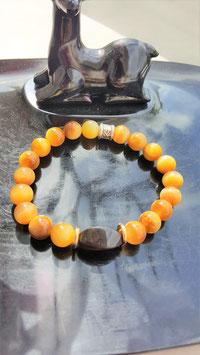 bracelet oeil de tigre /agate