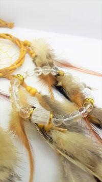 bracelet crystal de roche perle facette