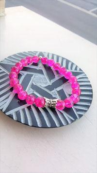 bracelet quartz crystal rose