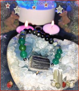 bracelet tourmaline brute
