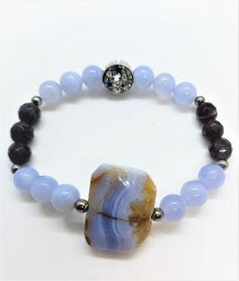 bracelet cacedoine amethyste