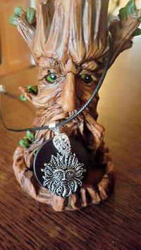 homme arbre pendentif shungite