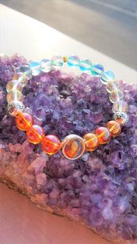 bracelet aqua aura protections marie