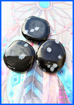 obsidienne moucheté