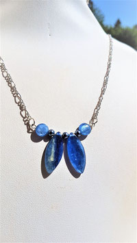 collier pendentif cyanite