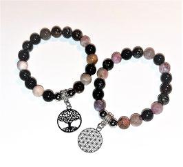 bracelet tourmaline mélanger