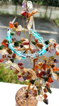 bracelet aqua aura