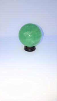 sphere fluorite verte