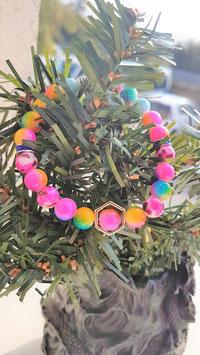 bracelet jade multicouleur