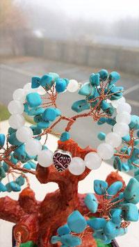 bracelet guerison jaspe imperiale,danburite,citrine !