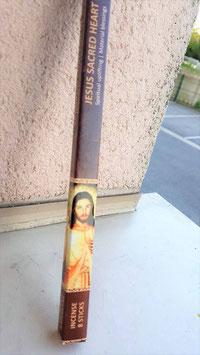 jesus sacré coeur encens 8 batonnet