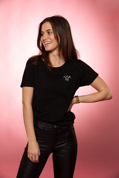 THIRTY-THR33    ::      T-SHIRT   BLACK    (WOMEN)