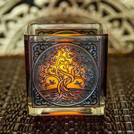 Teelichtglas Yggdrasil L-81