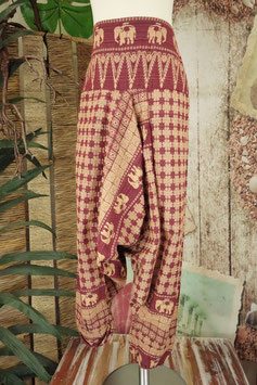 Goa Kids Hill Tribe Elephant Hose RED