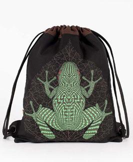 Seed of Life Sapo Kambô Drawstring Backpack
