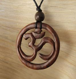 Holz Halskette OM Gu-2907.01 b