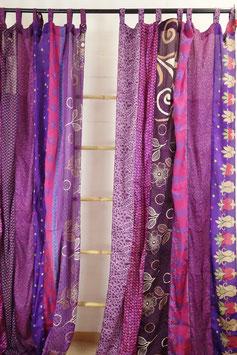 Patchwork-Sareestoff-Vorhang (1-Paar) GUR-46994