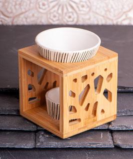 Aromalampe Bambus Keramik