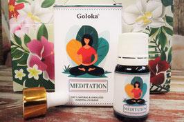 Meditation: Ätherisches Öl von Goloka