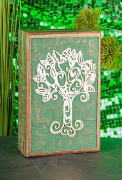 Keltischer Lebensbaum Holzbox T-26 b
