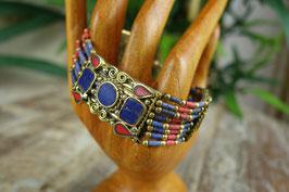 Indisches Armband mit Halbedelsteinen AB-1812.02