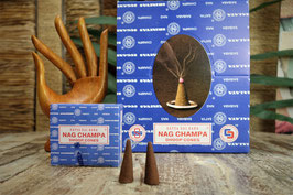 Räucherkegel Nag Champa Dhoop