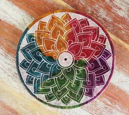 Regenbogen Mandala Stäbchenhalter COL-222