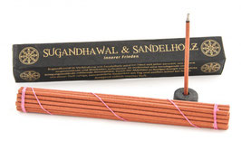 Tibetan Line - Sugandhawal und Sandelholz Räucherstäbli
