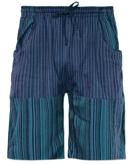 Soul Flower Hose Blue Shorts
