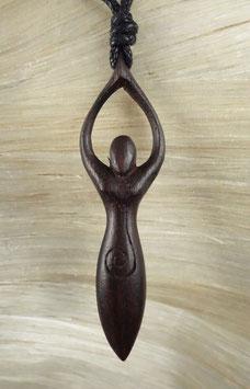 Holz HalsketteAngerone DRA-022