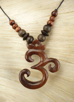 Holz Halskette Dra-105.14