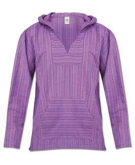 Soul Flower Hoody Purple