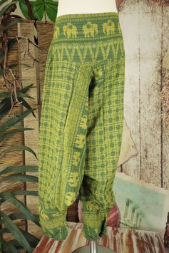 Goa Kids Hill Tribe Elephant Hose GREEN