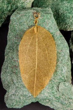 Buddha Blatt  gold