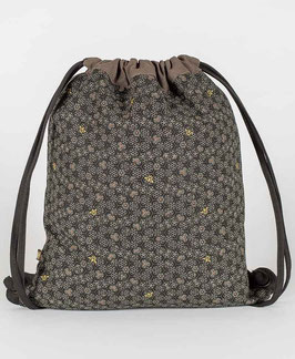 Seed of Life Bees Drawstring Backpack