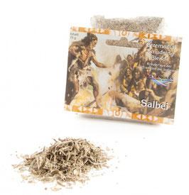 Salbei - reine Kräuter zum Räuchern fein