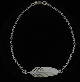 Silber Armband Feder MAV-30