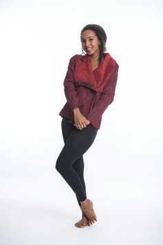 Jacket With Soft Lining in Red SUH-02