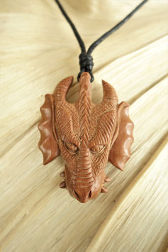 Holz-Halskette Dra-105.06 c