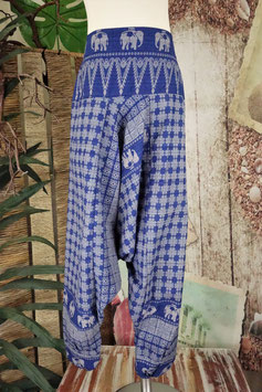 Goa Kids Hill Tribe Elephant Hose BLUE