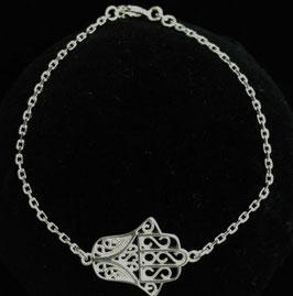 Silber Armband Hamsa MAV-03
