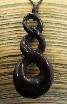Triple Maori Schmuck aus Horn Kette DRA-3301