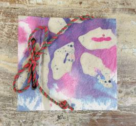 Batik Notebook purple
