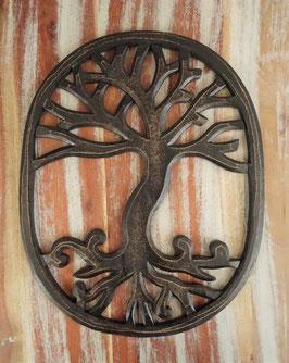 Keltischer Lebensbaum Schnitzerei DRA-01