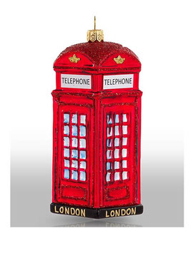 Britische Telefonkabine