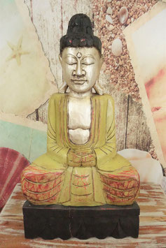 Buddha aus Holz Gu-1703