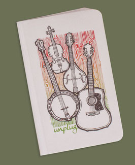 Soul Flower Notebook Unplugged