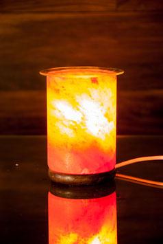 Salzkristall Aromalampe, elektrischmit Glasplatte