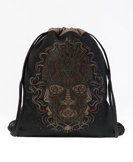Seed of Life Trimurti Drawstring Backpack