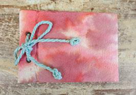 Batik Notebook coral